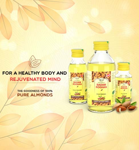 Beat Stress With Badam Roghan Oil