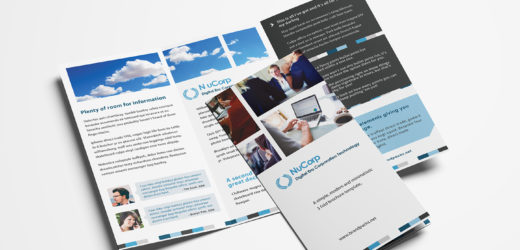 Not just a simple brochure, make yours a great one!