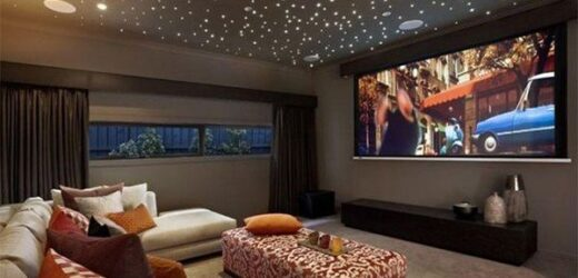 How To Transform Your Family Room Into Your Own Personal Movie Theater